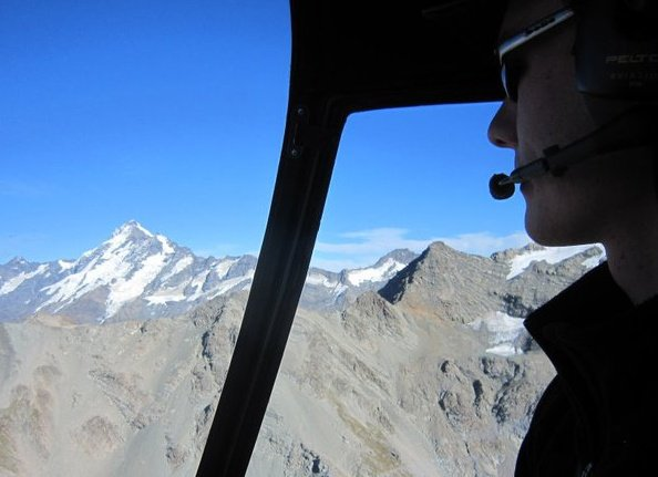 Mountain Flying Mt Cook