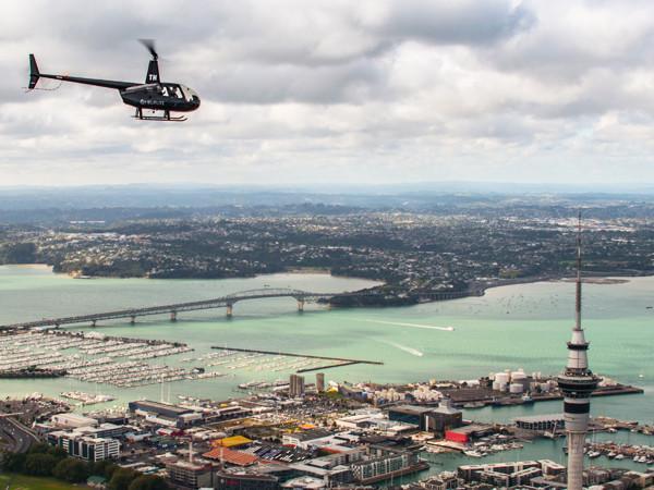 Auckland Harbour Bridge Auckland City Scenic