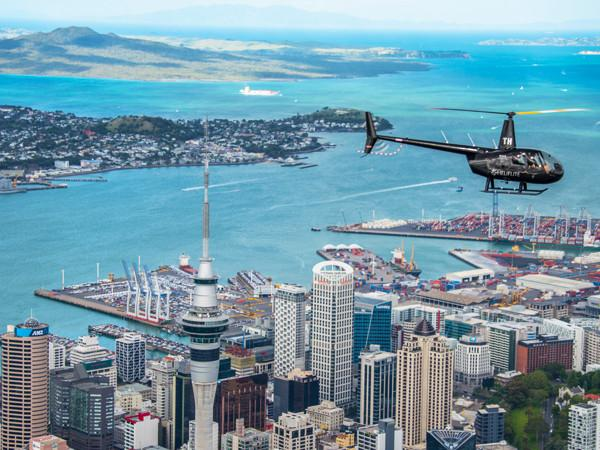 Auckland Helicopter Scenic Auckland City Scenics Heliflite