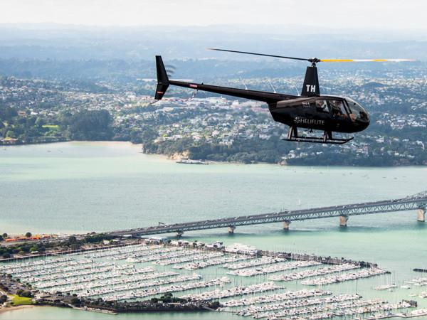 Heliflite Scenic R44 CBD Auckland City Scenic