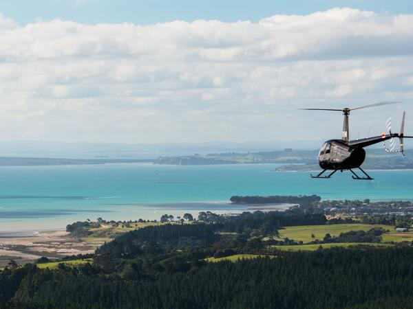 Heliflite Scenic R44 Great Value Flight - Auckland Helicopter Flights