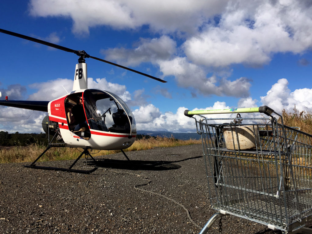 R22 Sling Training - Heliflite Auckland Helicopter Training