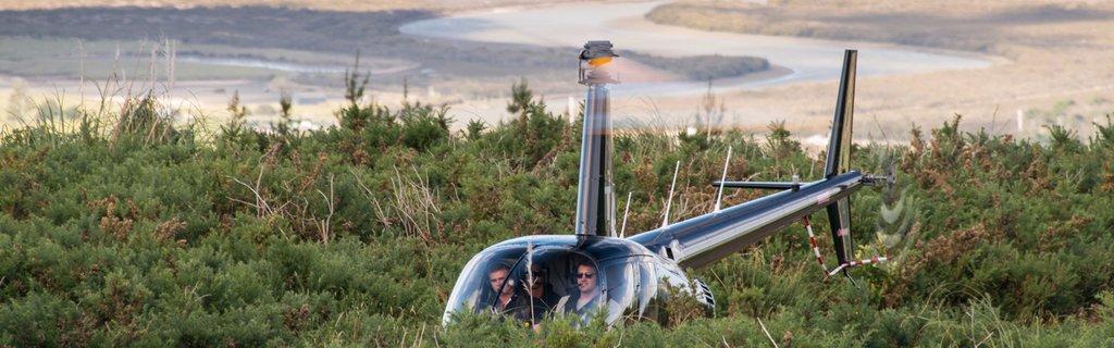 Heliflite R44 Mountain Flying