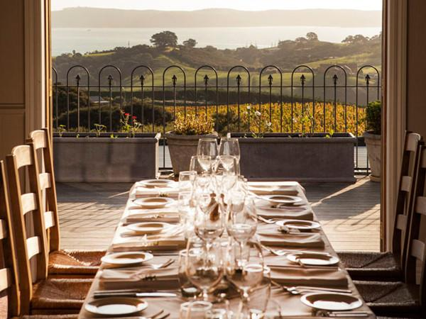 Mudbrick Vineyard Helicopter Dining