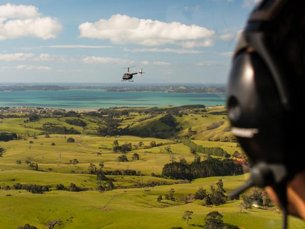 Heliflite Scenic R44 Waiheke Island Scenic Proposal Flights - Auckland Helicopter Flights