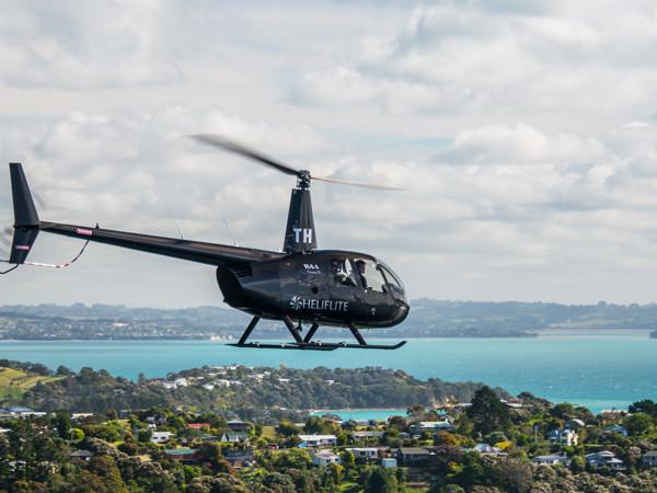 Heliflite R44 City Scenic - Auckland Helicopter Flights