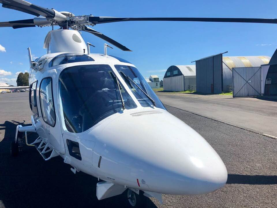 AW109 IAW at Heliflite Charter & Training