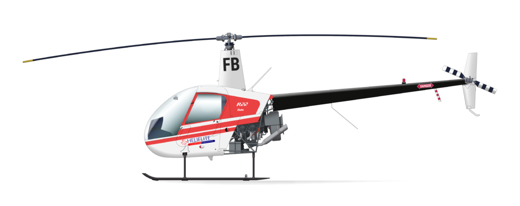 Our Fleet Charter Training Helicopter