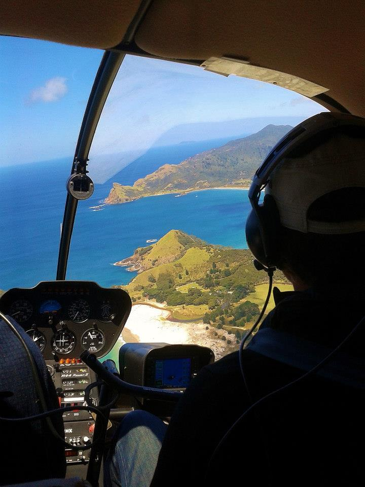 Great Barrier Helicopter - Heliflite Charter & Training